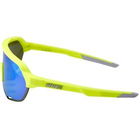 100% S2 Cykelbriller, fluorescent yellow